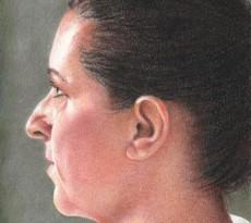 Portrait Study by Ann Kullberg