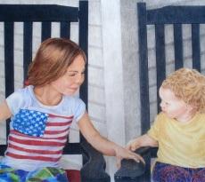 Porch Cousins by Denise MacDonald