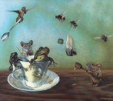 Morning Tea with Ms. Potter by Eileen Sorg