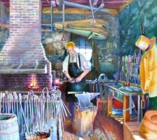 Sturbridge Blacksmith by Elizabeth Kincaid