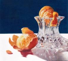 A-Peeling Clementines by Iris Stripling