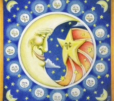 Phaces of the Moon by Jan Fagan