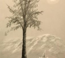 Ghost Tree by Jeanne Bates