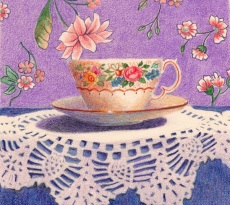Purple Passion by Kay Dewar