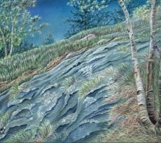 Granite and Birch - Coastal Maine by Kristy Kutch