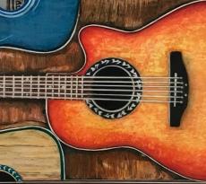Three Guitars by Linda H. Clark