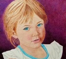 She Loves Purple by Michaelinda Kaestner