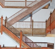 Up the Down Staircase by Mike Flynn
