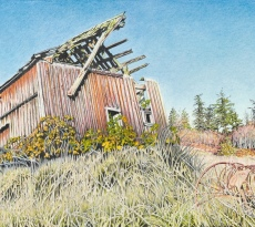 Red Barn by Scott Bookwalter