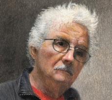 Self Portrait in the Time of Covid by Bill Walcott