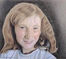 Two Cute Chicks by Diane Masek-Blow