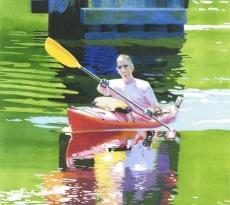 Kayak by Elizabeth Kincaid