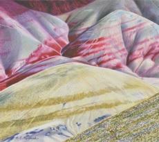 Painted Hills by Elizabeth Kincaid