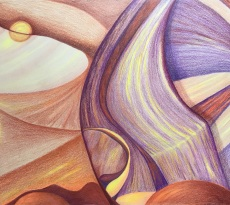 Inspiration Canyon by Jeanne Bates