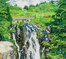 Myrtle Falls by Judy Moritz