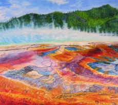 Yellowstone's Natural Palette by Judy Moritz