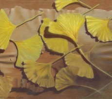 Golden Ginkos by Karen Saleen
