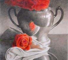 Roses and Silver by Kay Dewar