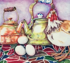 Morning Poetry by Linda H. Clark