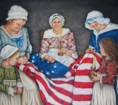 The Fabric of Freedom by Pam Gassman
