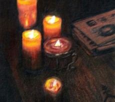 Candle Magic by Sheila Hunter