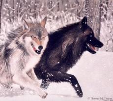 Hunters at Play by Thomas M. Thayer Jr.