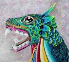 Bali Dragon by Trudy Rolla