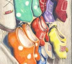 Kjeurrijke Klompen by Trudy Rolla